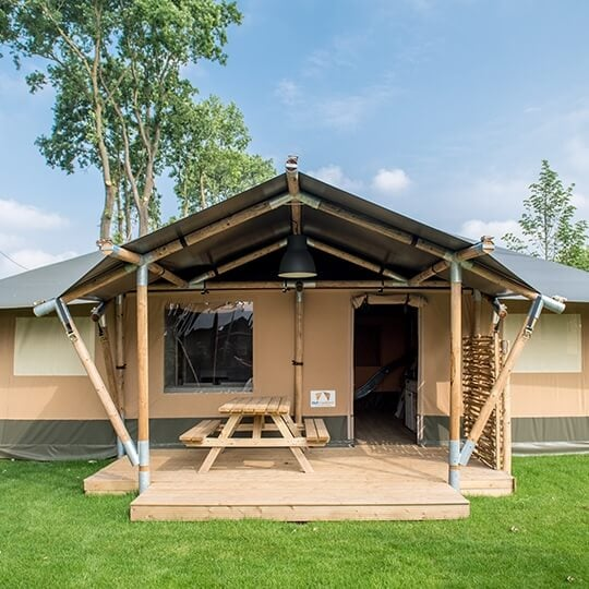 large glamping lodge